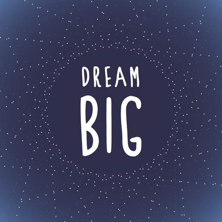 大きな夢と星