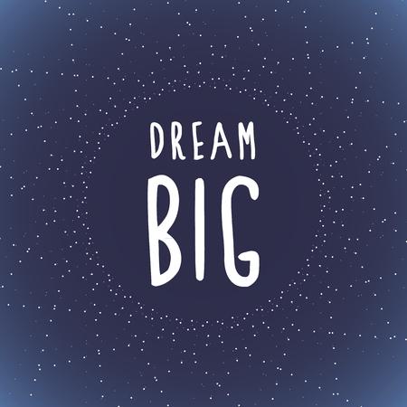 centric: Dream big and stars Illustration