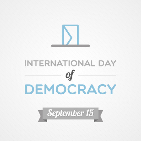 campaign promises: International Day of Democracy