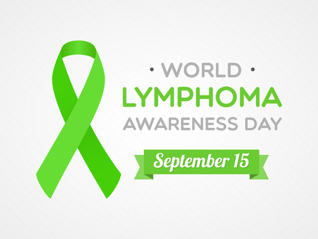 World Lymphoma Awareness Day Vector