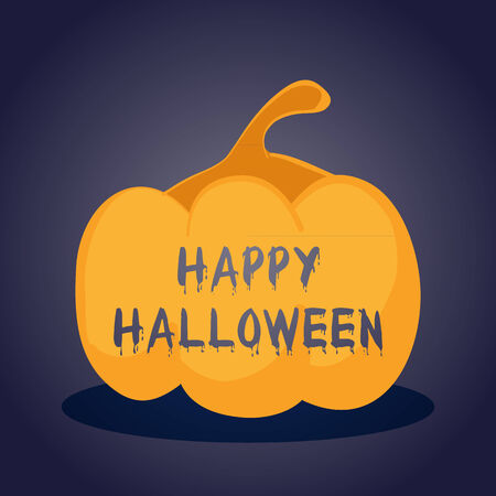 smilling: Happy Halloween Illustration