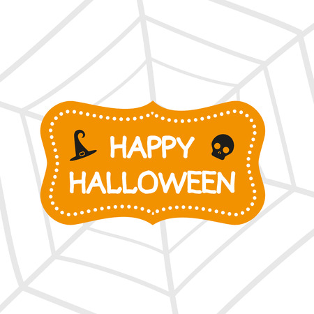 happy halloween: Happy Halloween Illustration