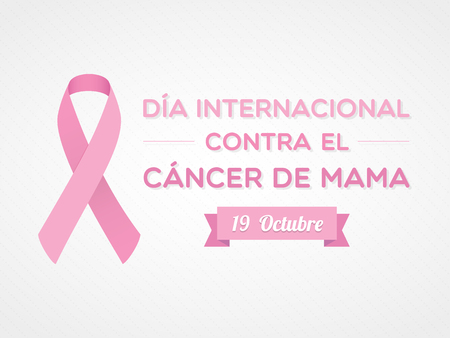 International Day of Breast Cancer. Spanish