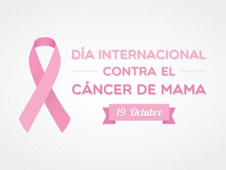 International Day of Breast Cancer. Spanish