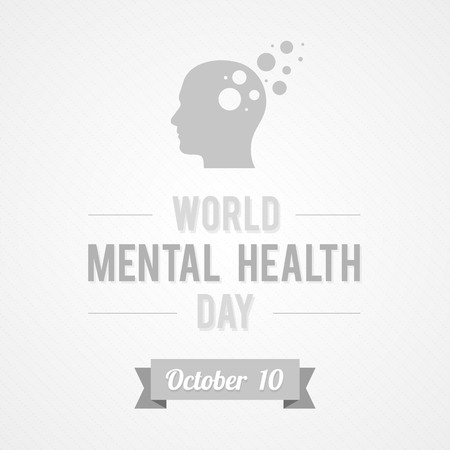 World Mental Health Day Vector