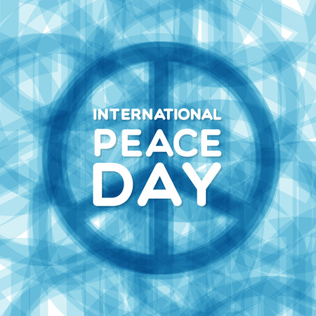 banner of peace: International Peace Day