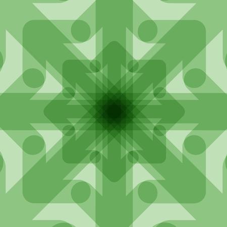 translucent: Green translucent background Illustration