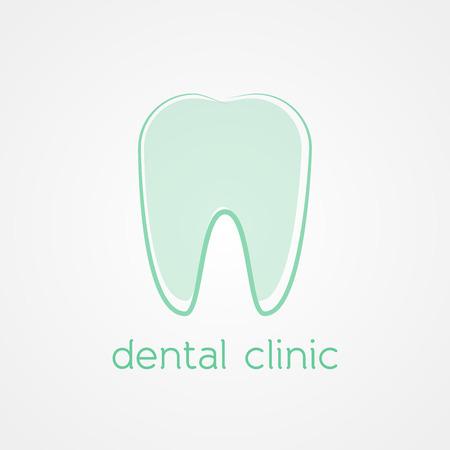 Dental clinic logo Vector