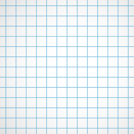 Squared paper pattern