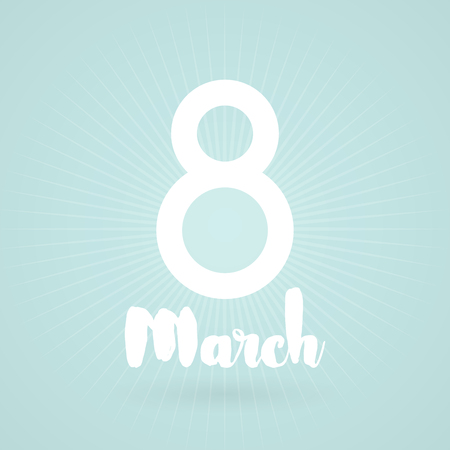 parity: 8 March. International Womens Day. Vector illustration Illustration