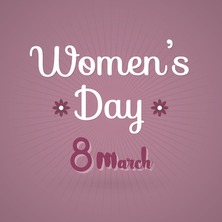 parity: International Womens Day. 8 March. Vector illustration