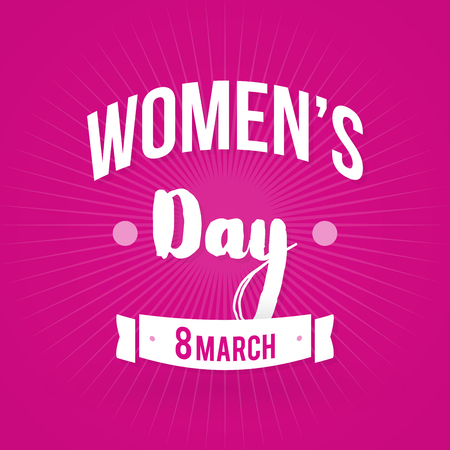 womens day: International Womens Day. 8 March. Vector illustration