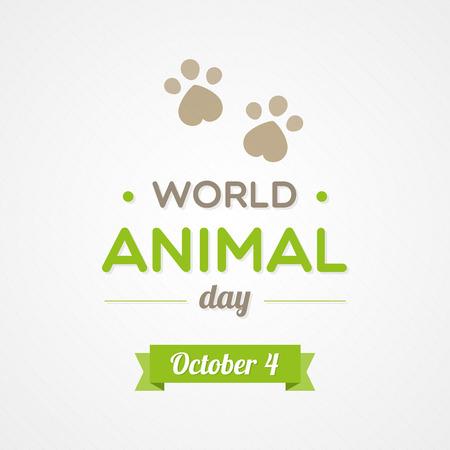 heart month: World Animal Day