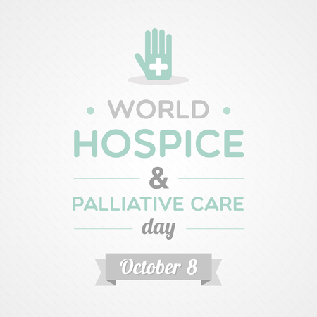 World Hospice & Palliative Care Day Фото со стока - 64100617
