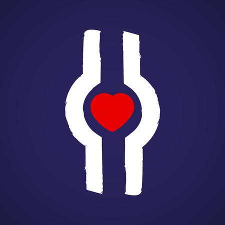 Thrombosis symbol  イラスト・ベクター素材
