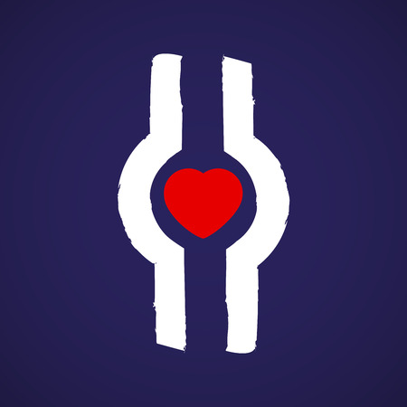 Thrombosis symbol Illustration