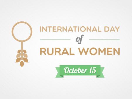 rural development: International Day of Rural Women