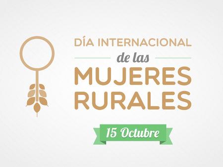 eradication: International Day of Rural Women