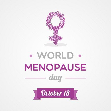 progesterone: World Menopause Day
