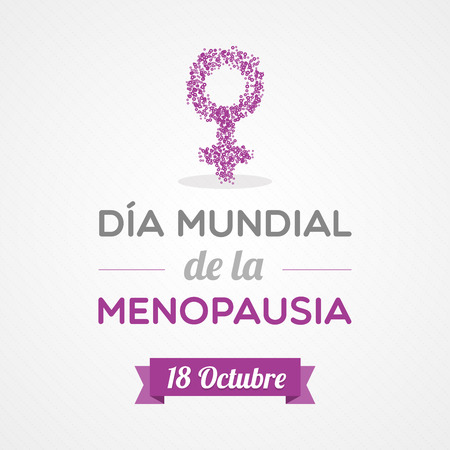hormonal: World Menopause Day in Spanish. Dia mundial de la menopausia