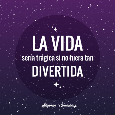 Phrases: Stephen Hawking.