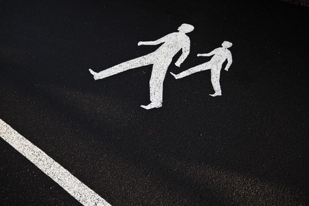 daughter in law: Way for pedestrians