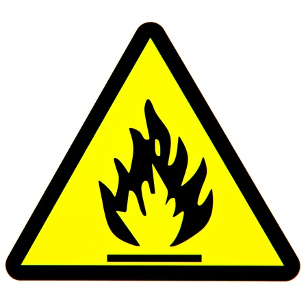 smoke alarm: Fire danger sign