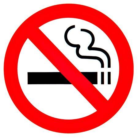 smoke alarm: No smoking sign