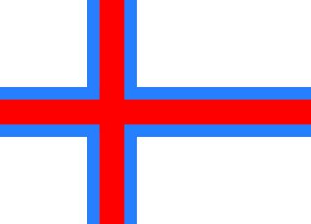 Flag - Faroe Islands, Scandinavia, Europe