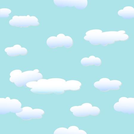 in clouds: Nuvole - sfondo vettoriale Vettoriali