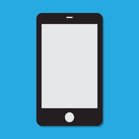 Mobile phone clear vector Illustration