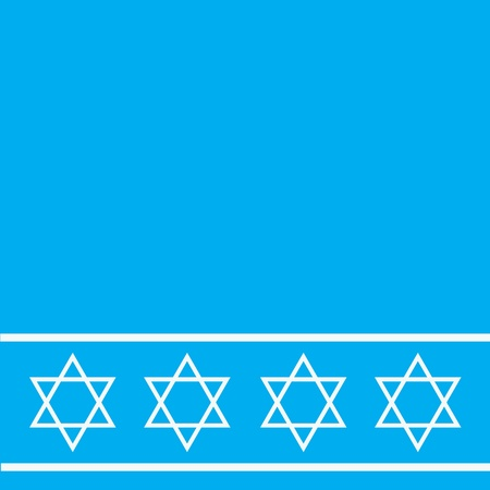 Star of David pattern Vector