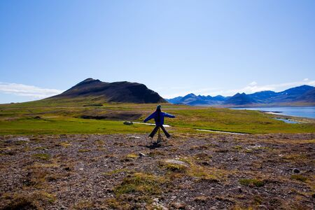 Landscape of summer in the mountains of Iceland Stock Photo - 11699972