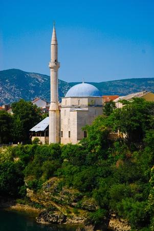 mostar: Mostar, Bosnia, Landscape in the summer