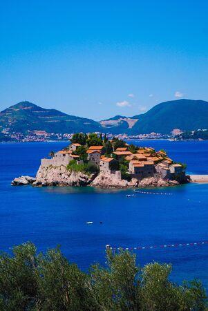 Pearl of Montenegro - Sveti Stefan, Balkans, Europe Editorial