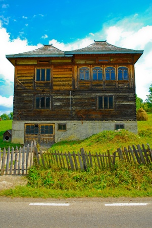 Old country house in Romania, Europe