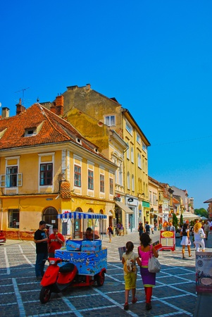 Summer picture of Romania