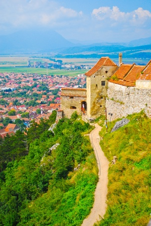 Roofs of Transylvania, Romania, Europe