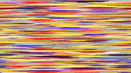 transition: Summer abstract watercolor background. Motion blur blue red yellow transition lines.  Digital background raster illustration.