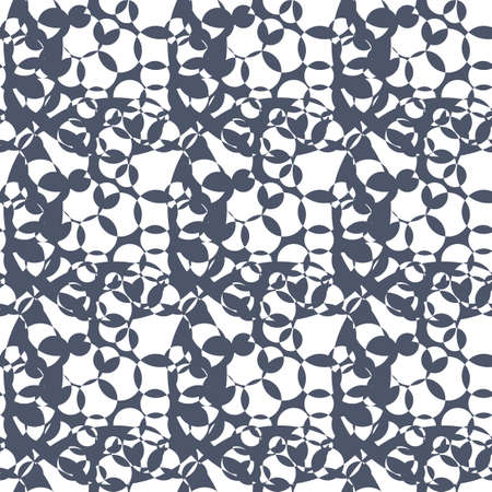 textile industry: Abstract seamless pattern for interior design and textile industry. Digital background illustration.