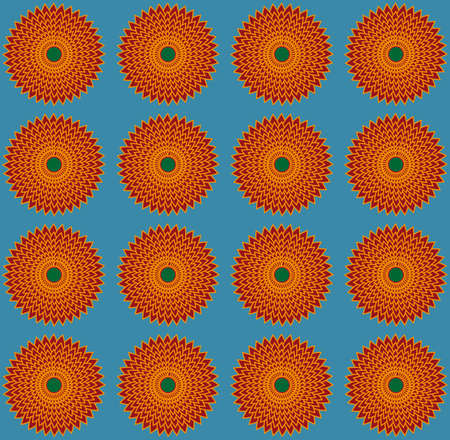 grey pattern: Dark amber flowers on steel grey backdrop. Digital background pattern.