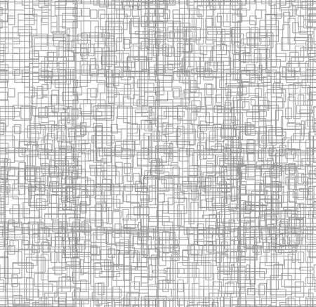 streckbilder: Mikrochip. Linjegrafik. Grå linjer på vit bakgrund. Digital bakgrundsmönster print. Illustration
