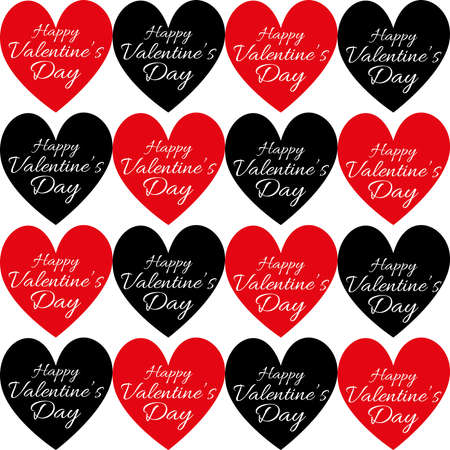 Happy Valentines Day Greeting Card Stitched Heart Shape With – Digital Valentine Card