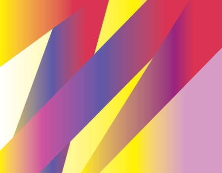 triangular banner: Triangular Gradient Lines. Abstract elements on gradient backdrop. Banner Flyer Card Elements. Graphic design objects. Digital vector illustration. Illustration