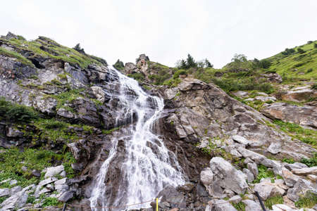 Photo of waterball in fagaras mountains, Romania.