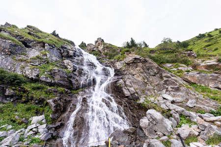 fagaras: Photo of waterball in fagaras mountains, Romania.