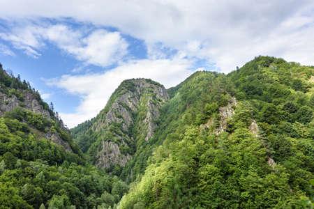 fagaras: Photo of peaks of fagaras mountains, Romania.