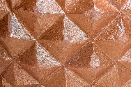 rhomb: Vintage brown stone rhomb and diamond texture, symmetric square and triangle
