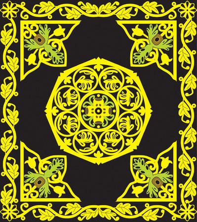 crocket: Christian pattern Illustration