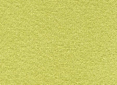 Yellow-green synthetic fabric